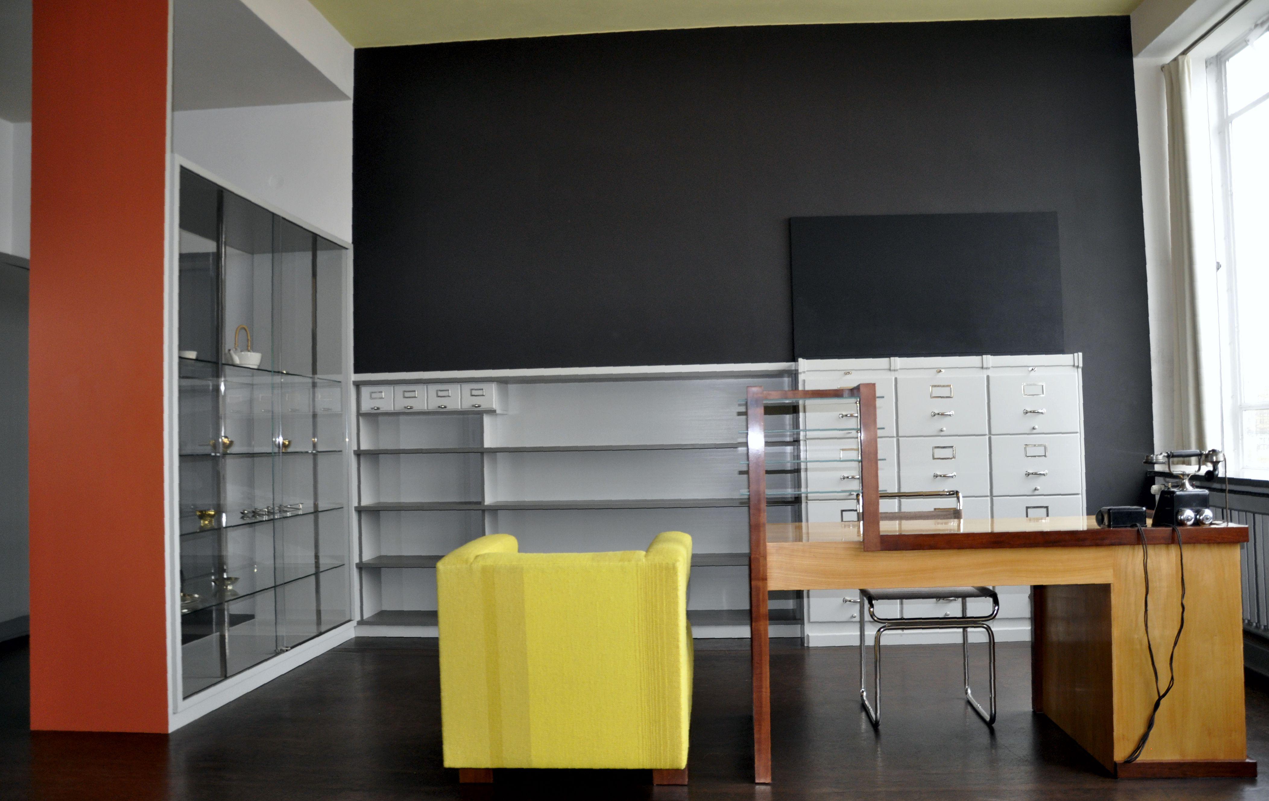 Arbeitszimmer Walter Gropuis